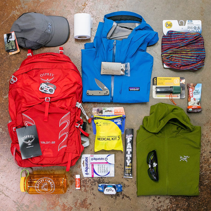 What to pack on a day hike