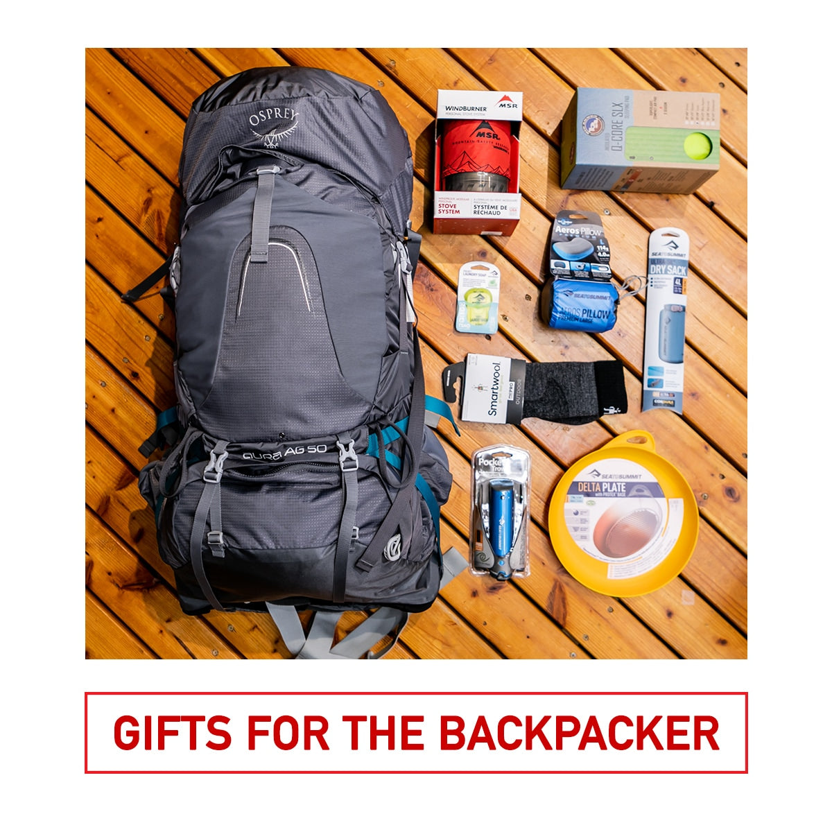 Gifts for the Backpacker