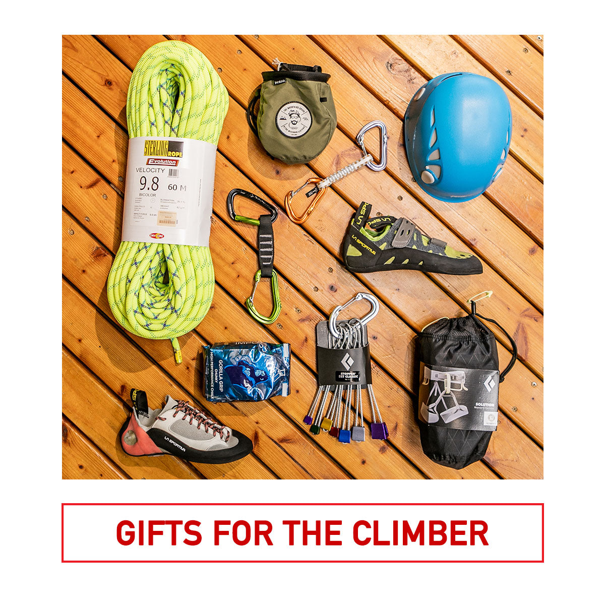 Gifts for the Climber