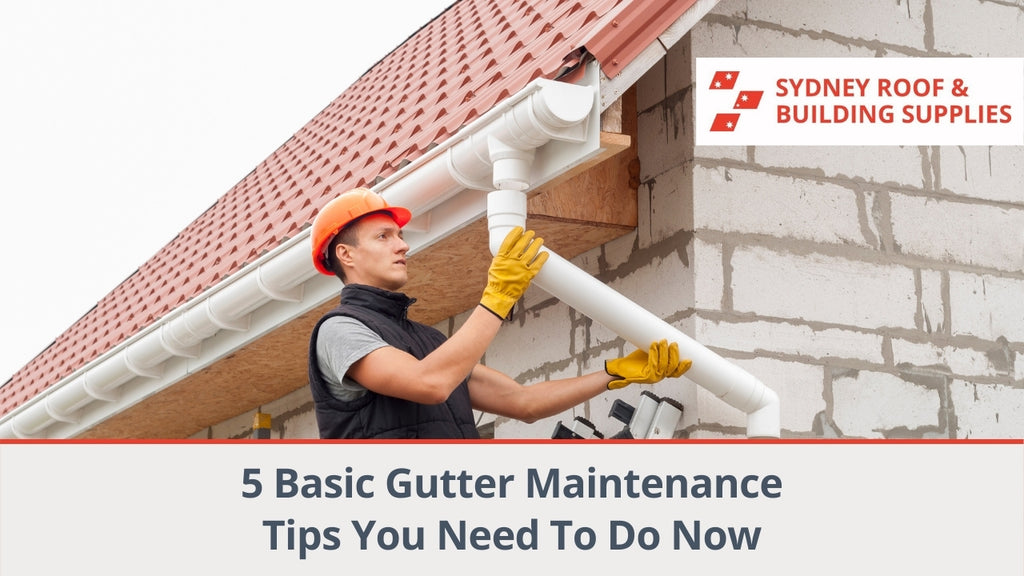 5 Basic Gutter Maintenance Tips You Need To Do Now