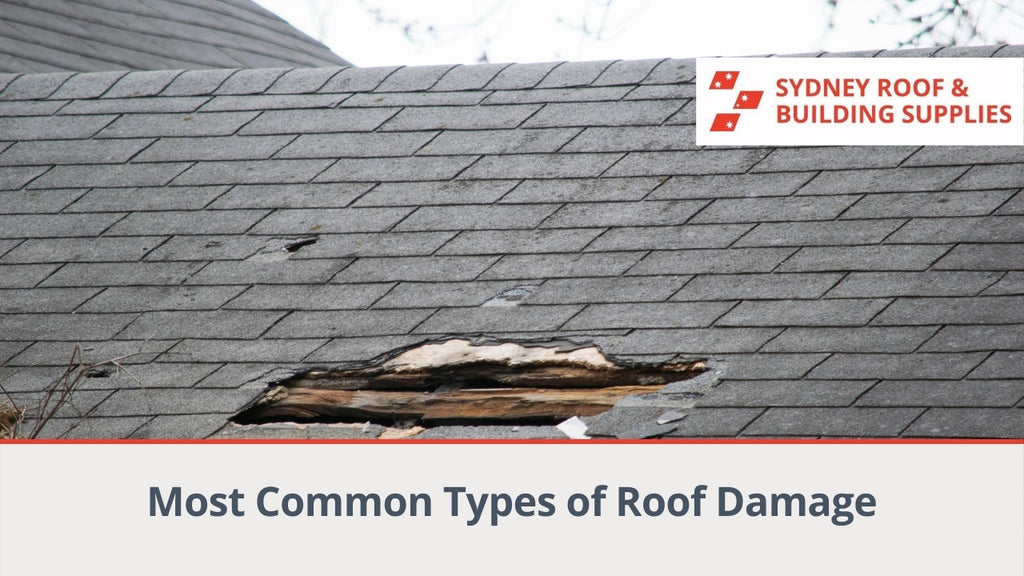 Most Common Types of Roof Damage