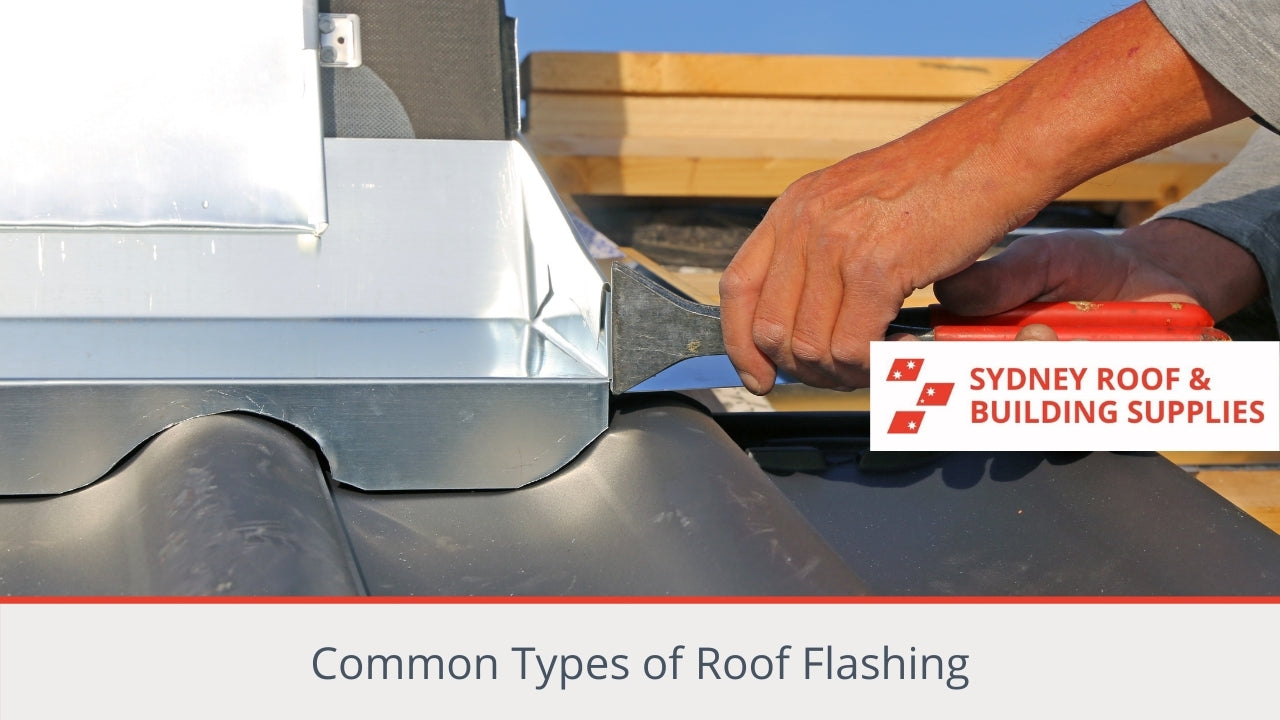 Common Types of Roof Flashing