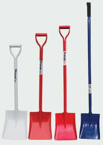 Wasp All Steel Square Mouth Shovel