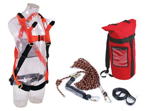 Ferno Economy Roof Workers Kit with 15m Rope Line