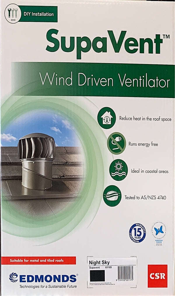 SupaVent wind driven ventilation