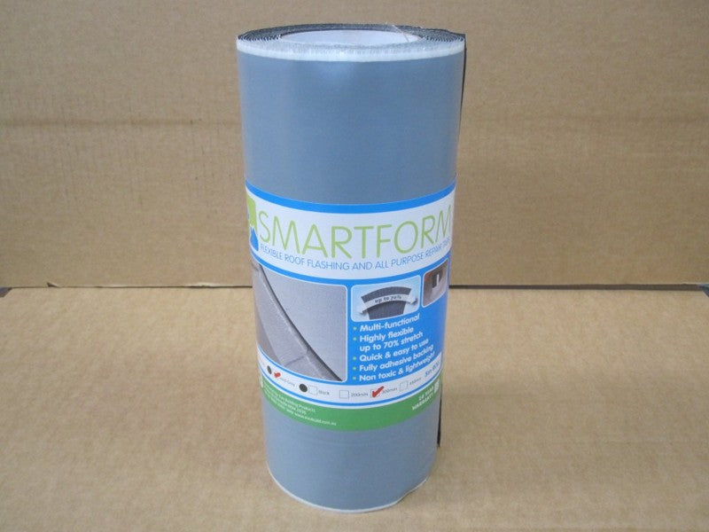 SMARTFORM LEAD GREY 300MM X 5M
