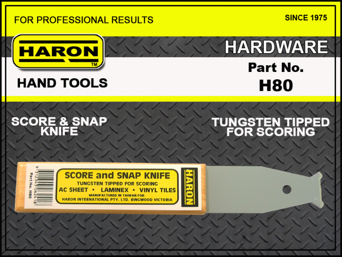 H80 HARON SCORE AND SNAP KNIFE