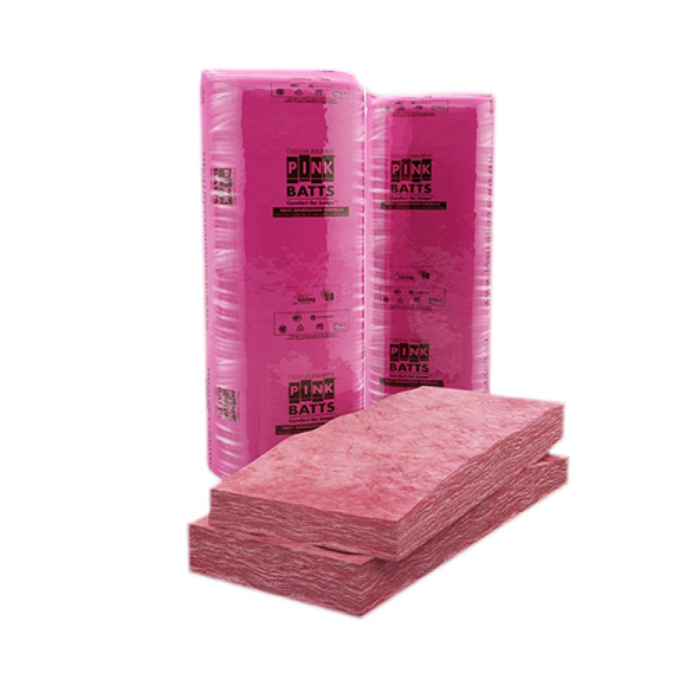 R3.5 PINK BATTS 580MM GLASSWOOL INSULATION BATTS