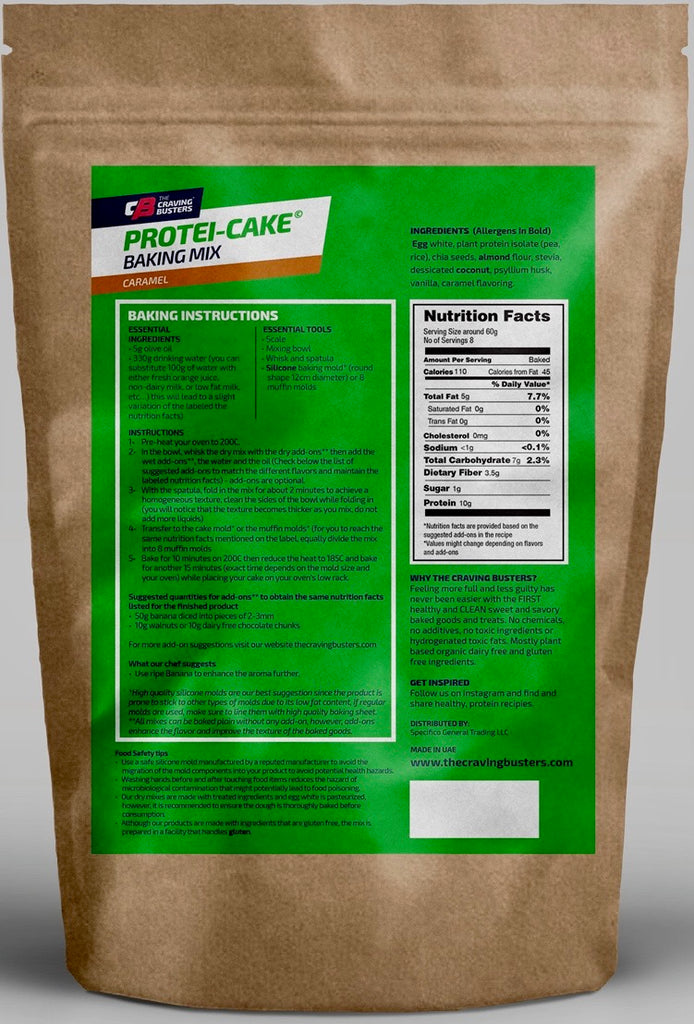PROTEI-CAKE CARAMEL BAKING MIX
