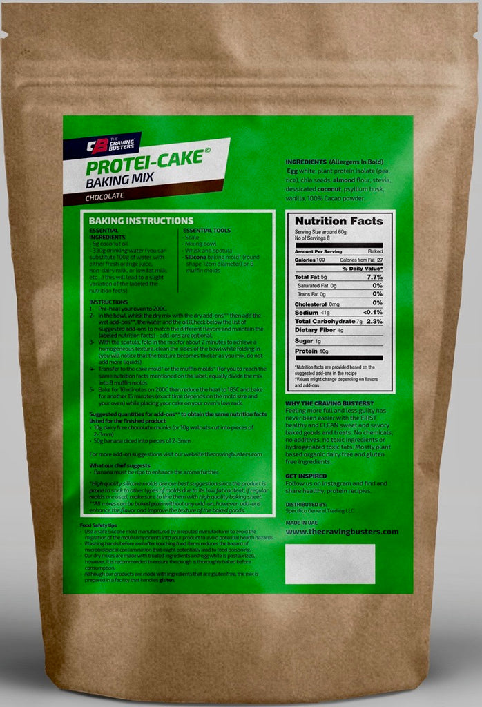PROTEI-CAKE CHOCOLATE BAKING MIX