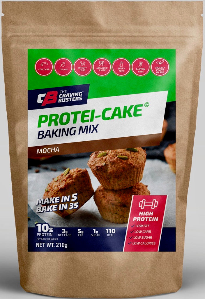 PROTEI-CAKE MOCHA BAKING MIX