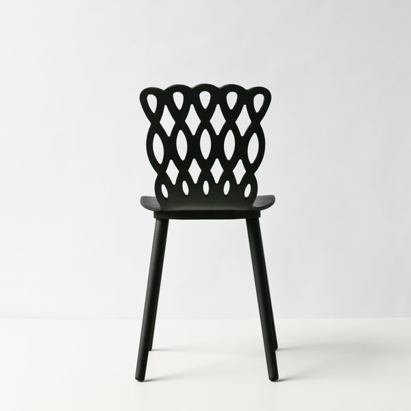 Björk Chair Charcoal Black