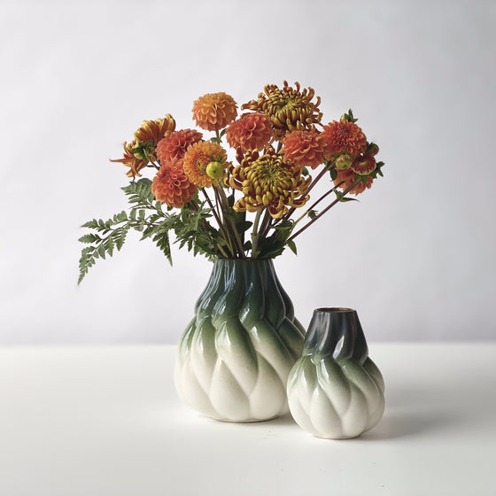 Eda Vase _ White Green (Limited Edition)