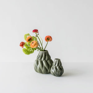 Eda Vase (Forest Green)
