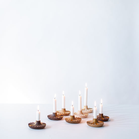 Daggkåpa Candle Holder _ OAK (Limited Edition)