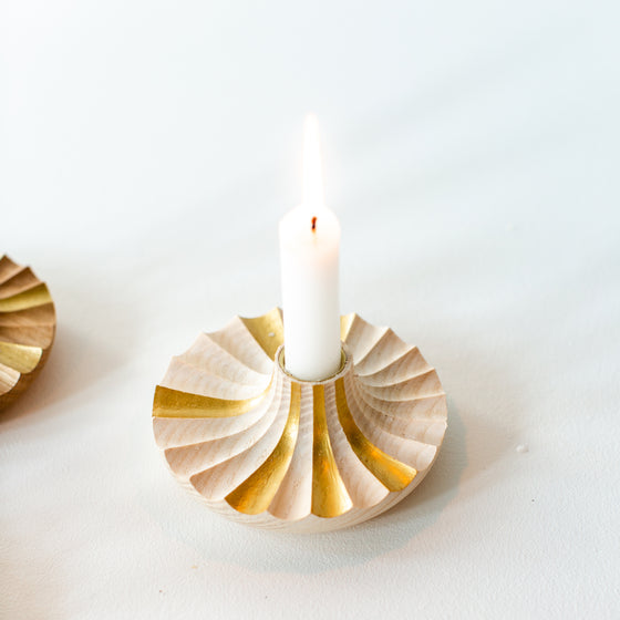Daggkåpa Candle Holder _ ASH (Limited Edition)