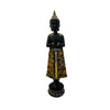 Buda Siddharta Black & Brown de Pie