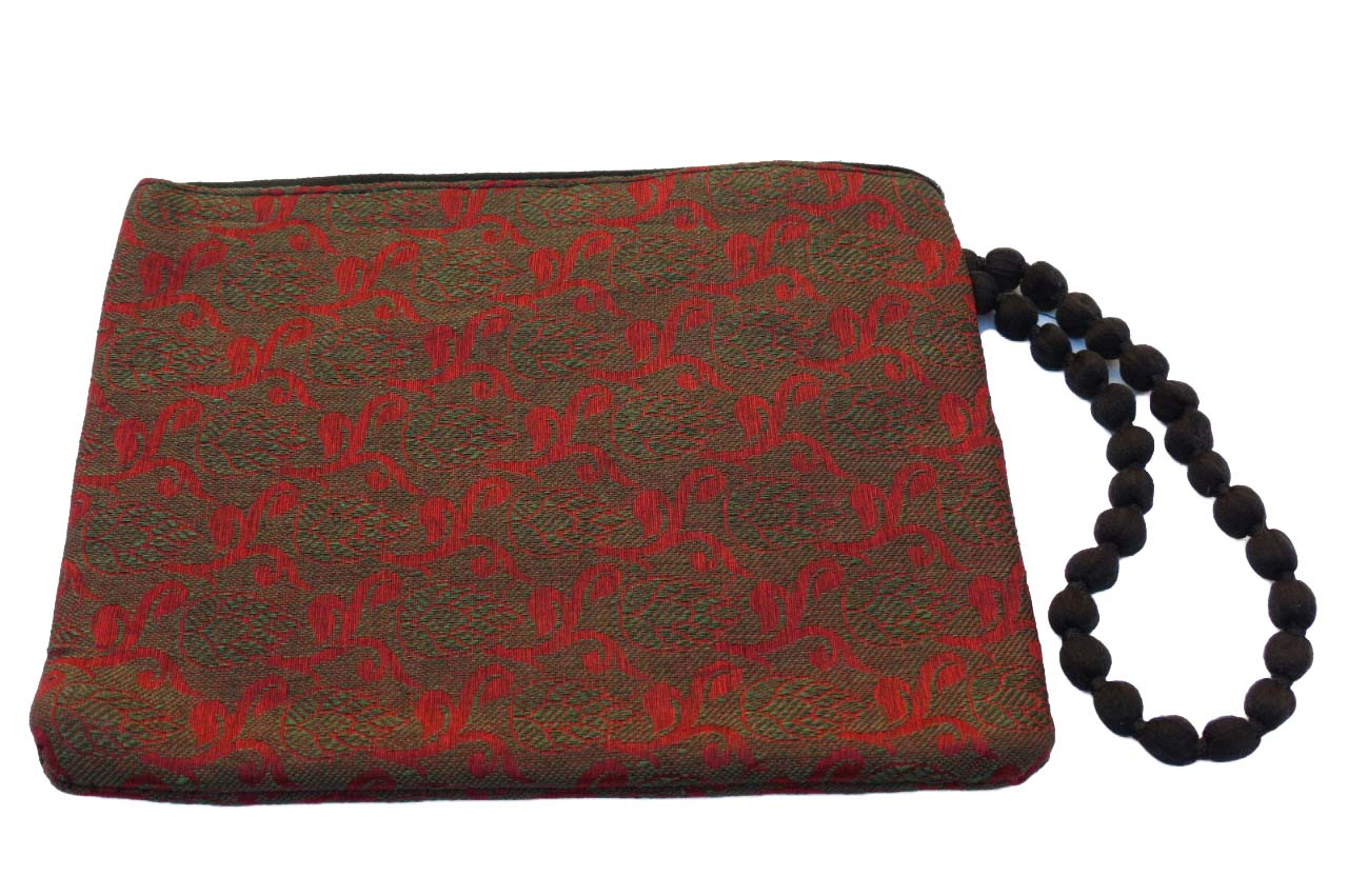 Cartera de mano Red and Green