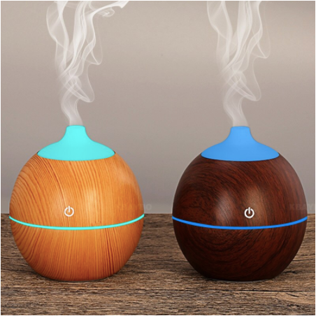 Difusor Humidificador 130ml esfera Led Light