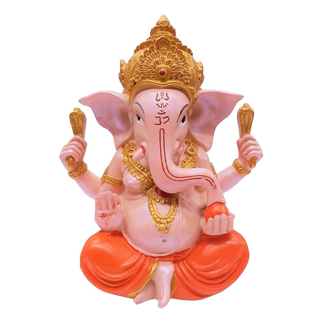 Figura Ganesh 19 Cms Colours