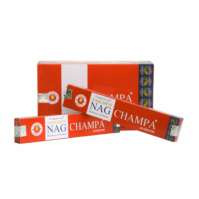 Incienso Natural Golden Nag Champa - Vijayshree