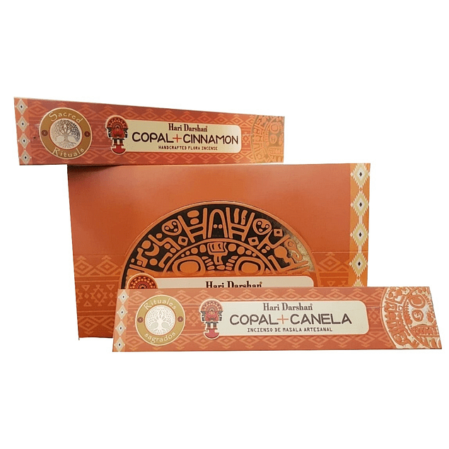 Incienso Natural Copal Canela - Hari Darshan