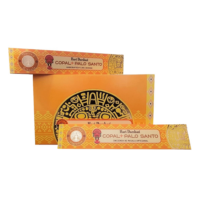 Incienso Natural Copal Palo Santo - Hari Darshan