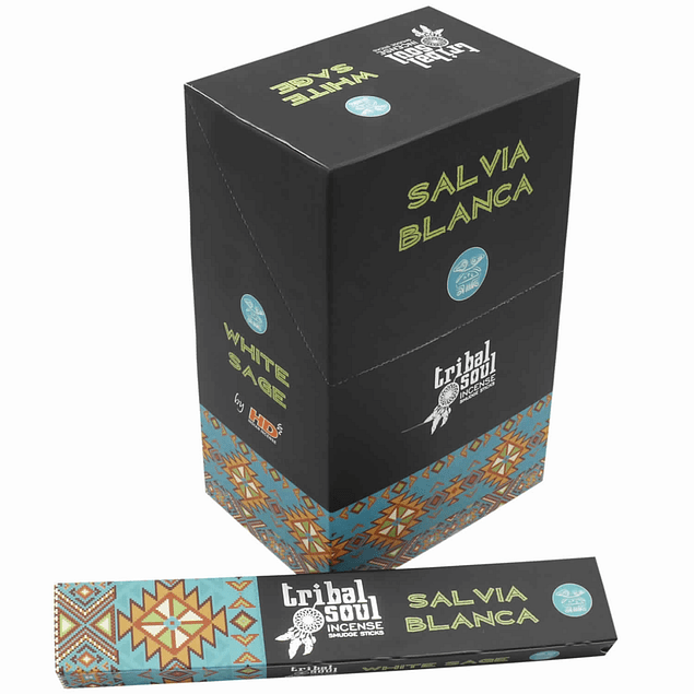 Incienso Natural Salvia Blanca - Tribal Soul
