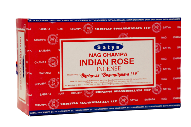 Incienso Natural Indian Rose - Satya