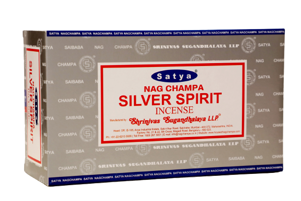 Incienso Natural Silver Spirit - Satya