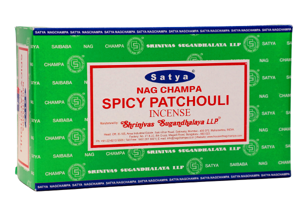 Incienso Natural Spicy Patchouli - Satya