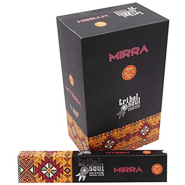 Incienso Natural Mirra - Tribal Soul