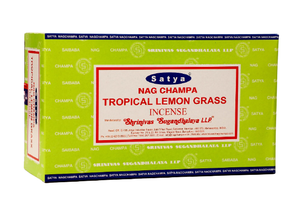 Incienso Natural Tropical Lemongrass - Satya