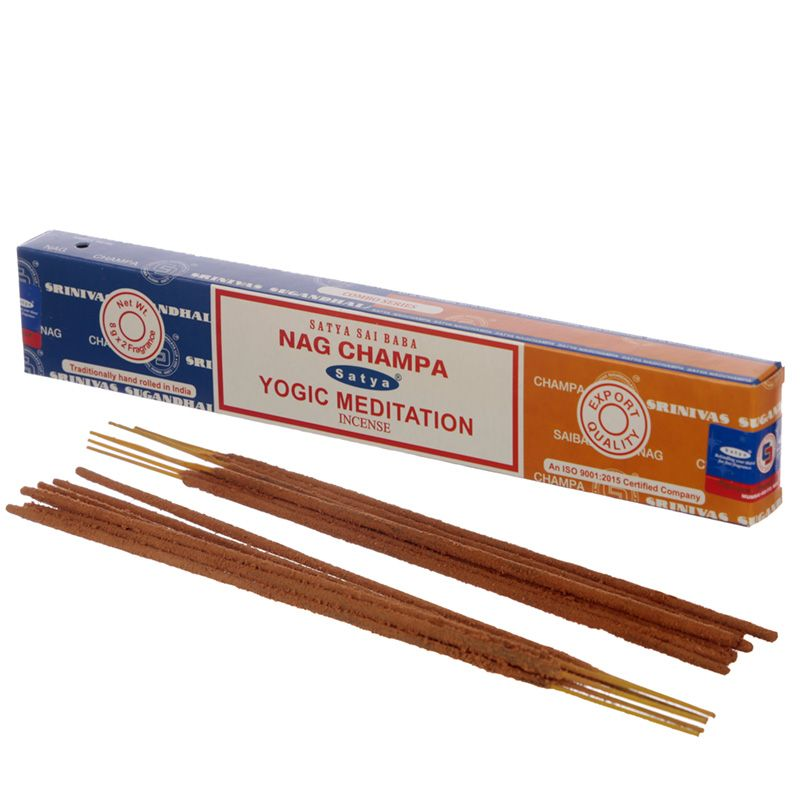 Incienso dúo Nag Champa y Yogic Meditation