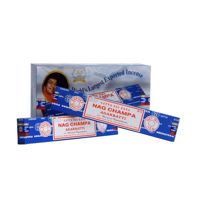 Incienso Natural Nag Champa Azul - Satya