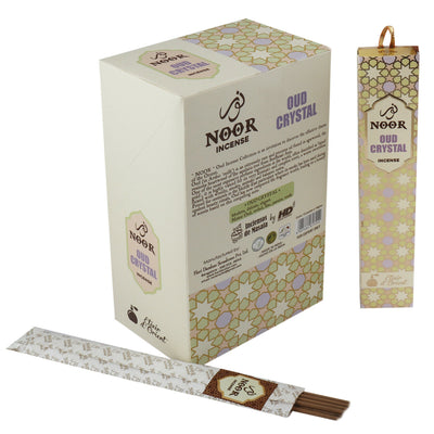 Incienso Natural Oud Crystal - Noor Incense