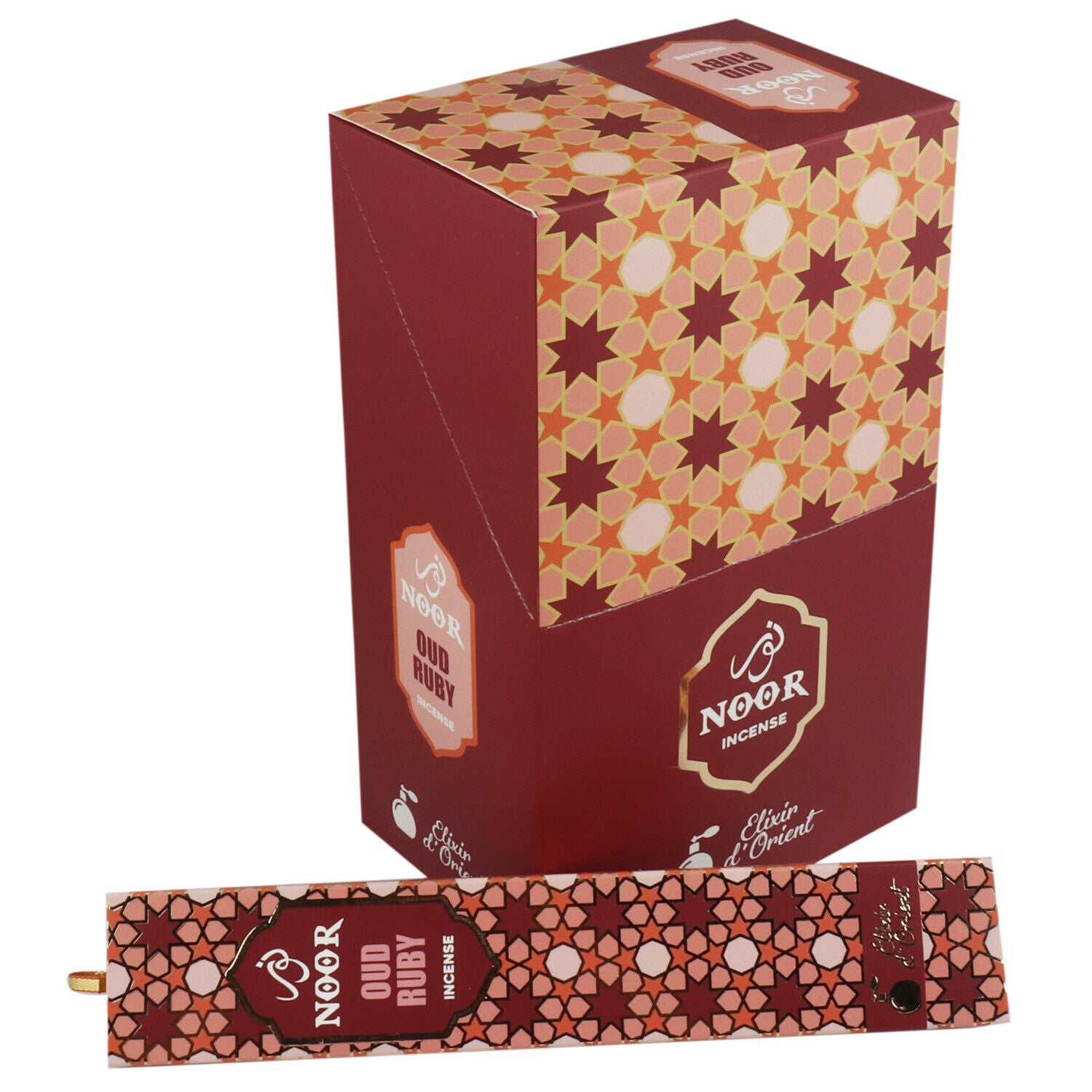 Incienso Natural Oud Ruby - Noor Incense