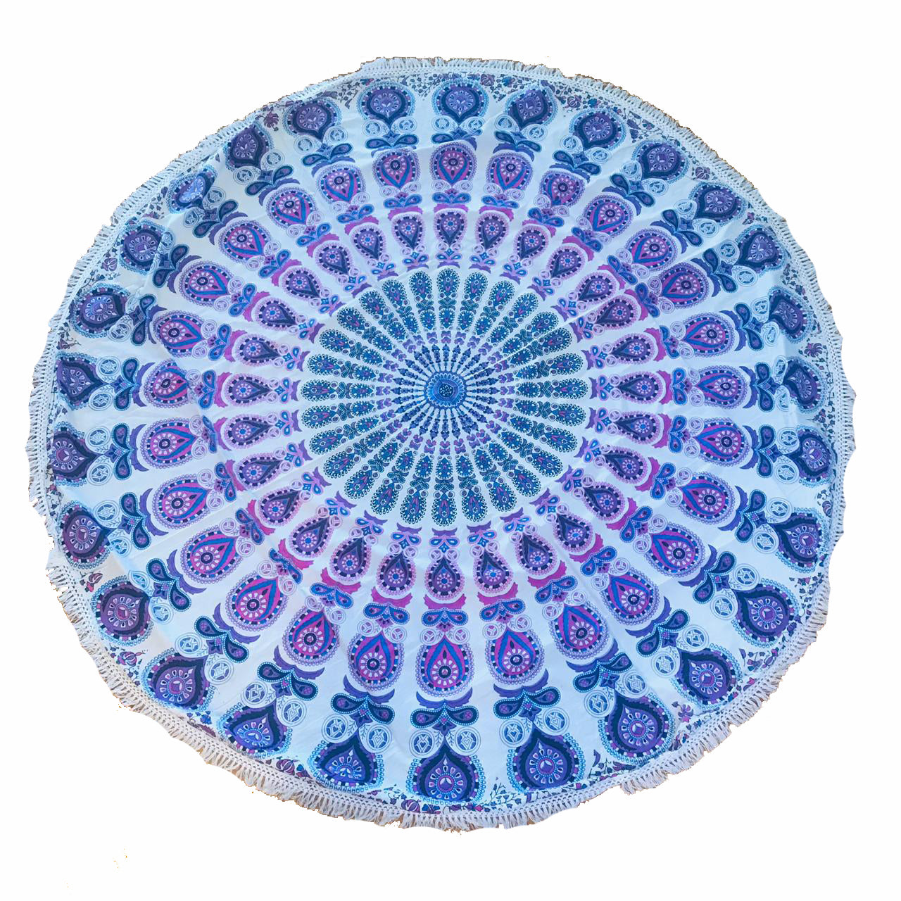 Pareo - Cubre cama mandala  Pink and Purple Design