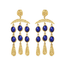 FIORELLA EARRINGS LAPIS LAZULI