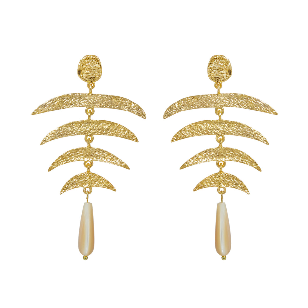 SIENA EARRINGS WITH MOTHER OF PEARL