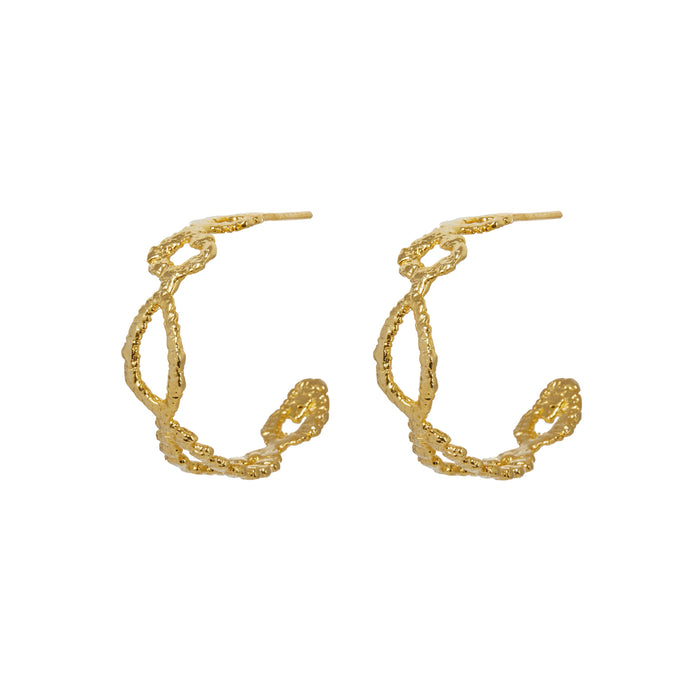 CARESSA HOOP EARRINGS