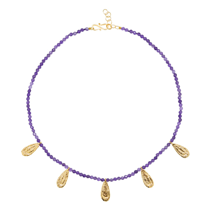 ISABEL NECKLACE AMETHYST