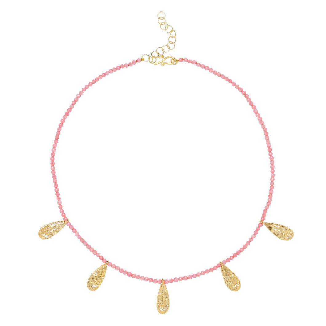 ISABEL NECKLACE CORAL