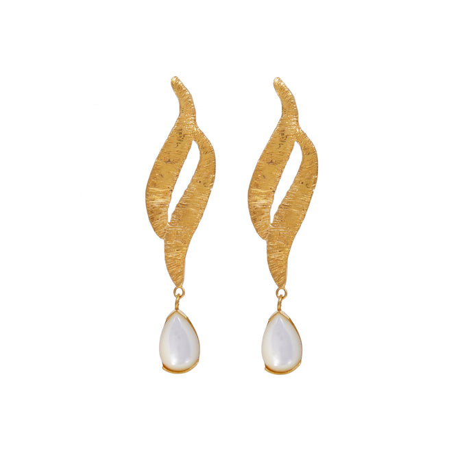 ORABELLE EARRINGS IN PEARL