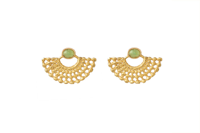 LYDIA GOLD - AVENT EARRINGS