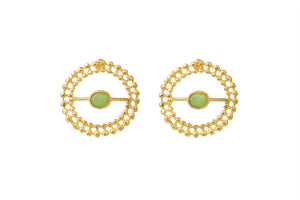 MYRTLE GOLD - AVENT EARRINGS
