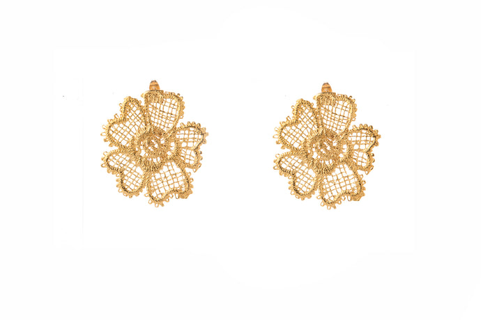 POPPY GOLD EARRINGS