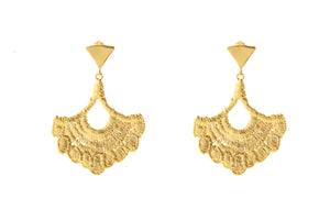 SORREL GOLD EARRINGS (L)