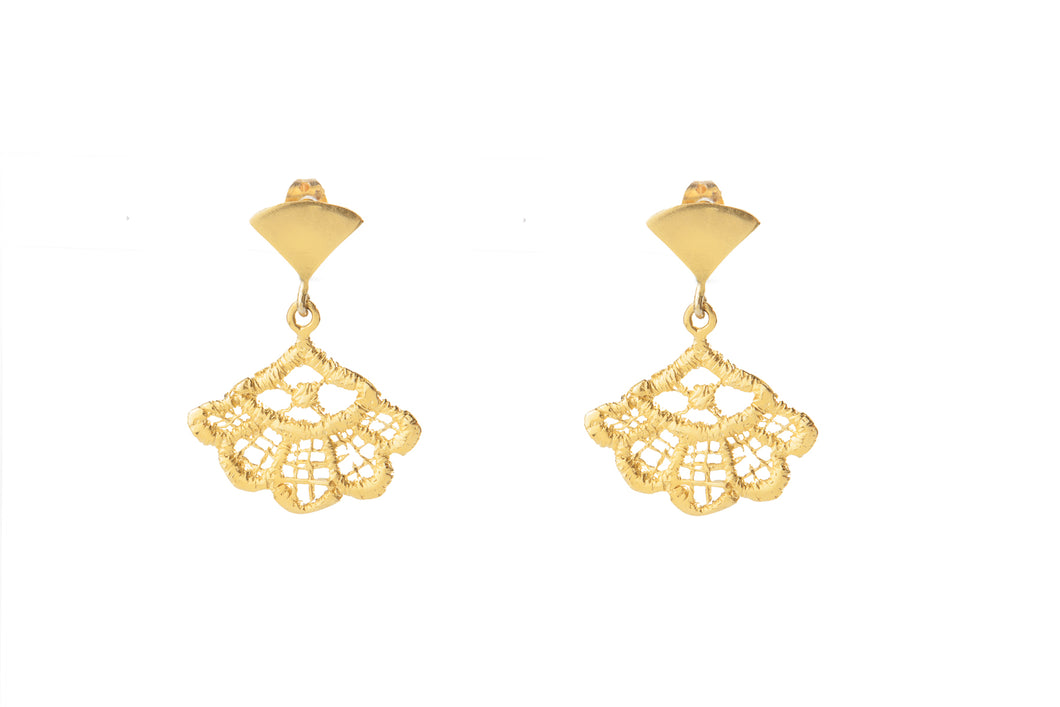 SORREL GOLD EARRINGS (S)