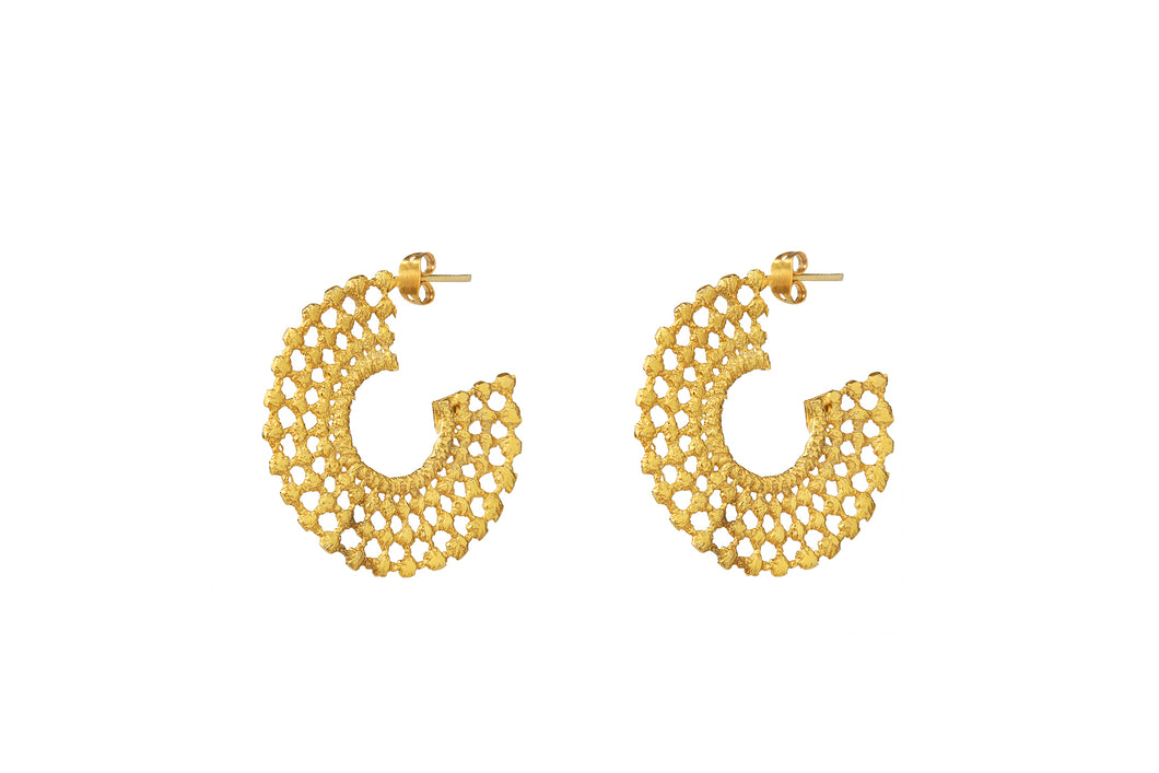 SYLLA GOLD EARRINGS